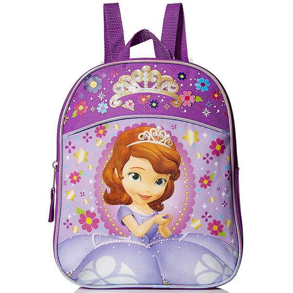 Princess Sofia the First Purple Bookbag