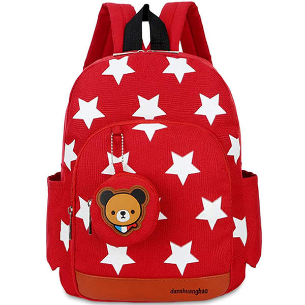 Toddler's Star Bear Backpack