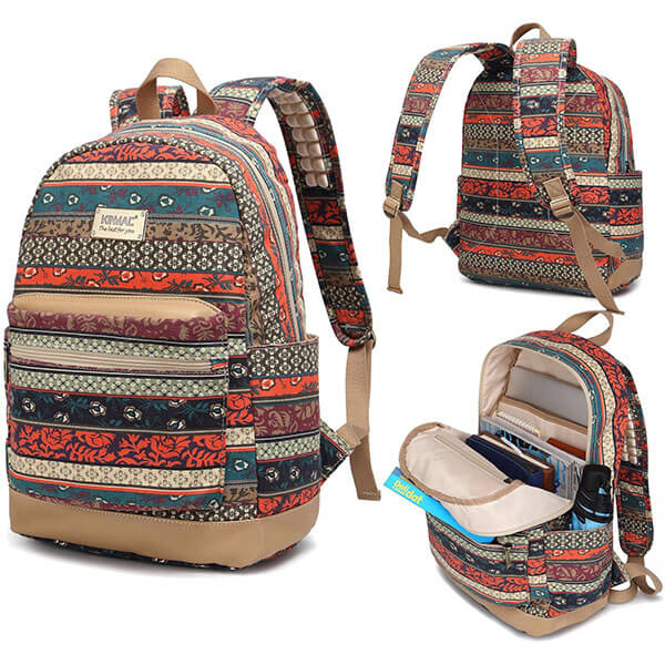 Bohemian Adventure Backpack with USB Charger