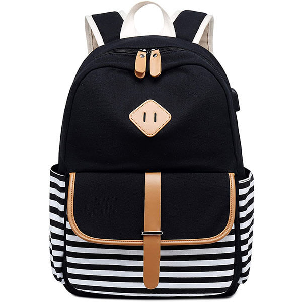 USB Interface Carry-on Laptop Backpack for Teens