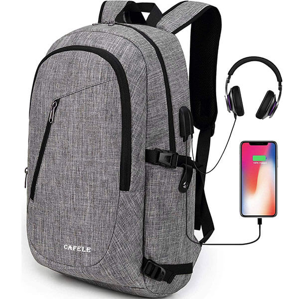 Oxford USB and Headset Interface Backpack for Trip
