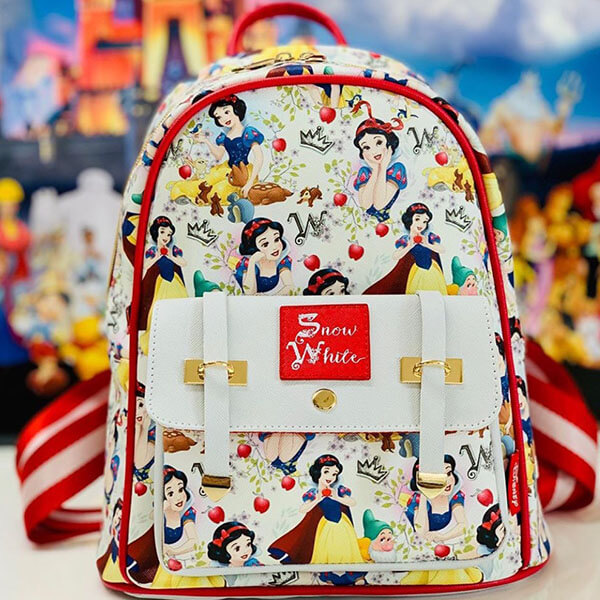 Faux Leather Snow White Mini backpack