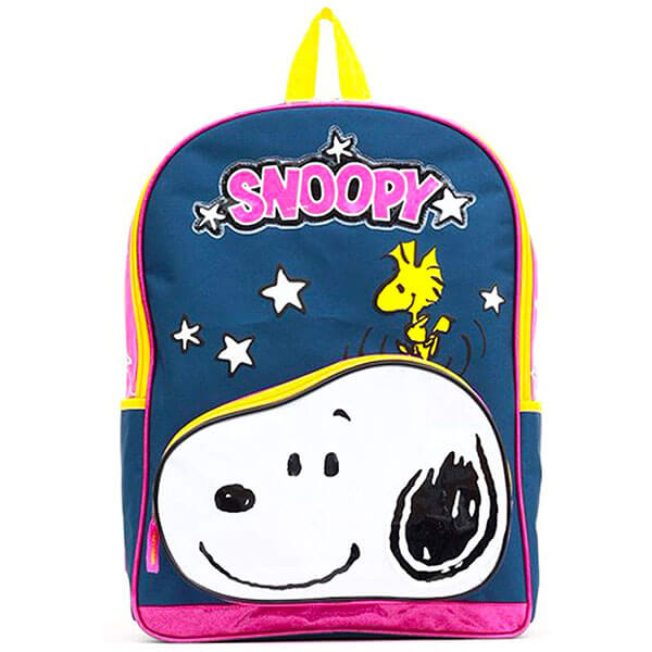Snoopy Woodstock School Backpack