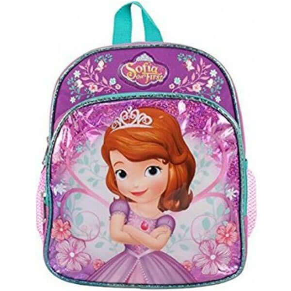 Sofia the First mini Backpack with Floral Design