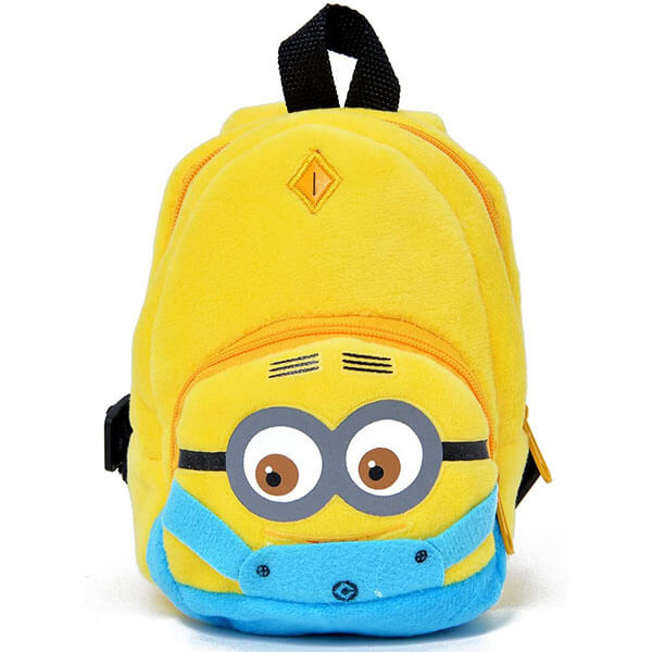 Yellow Minion Backpack for Preschool Girls