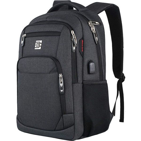 Super Sturdy Water-resistant Backpack with USB Charger