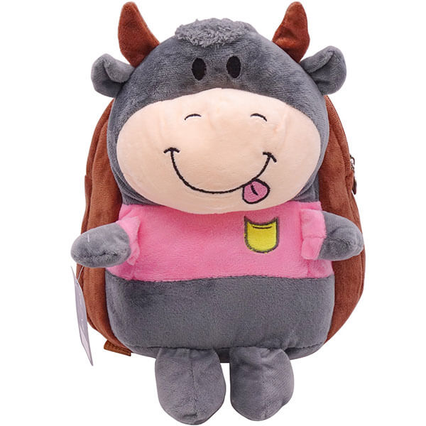 3D Toy Kindergarten School Cow Backpack