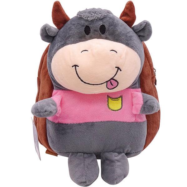 3D Toy Kindergarten School Cow Backpack