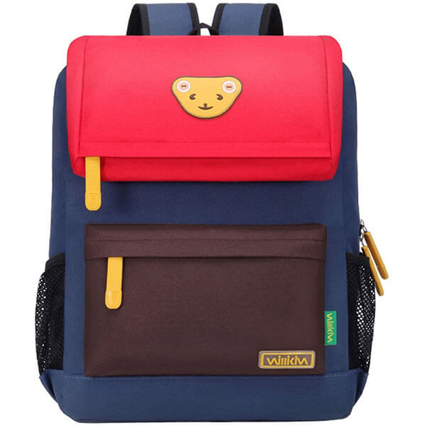 Colorful Teddy Bear Backpack for School