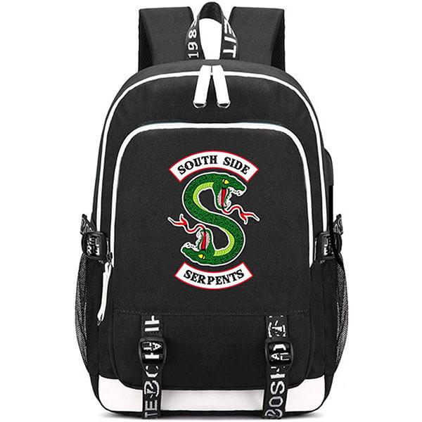 USB Port Riverdale Backpack for School