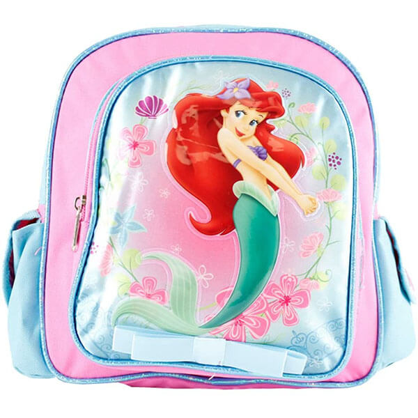 Kids Disney Backpack with Velcro Pockets