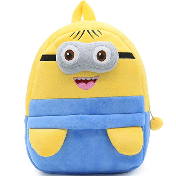 Plush Toddlers Minion Backpack