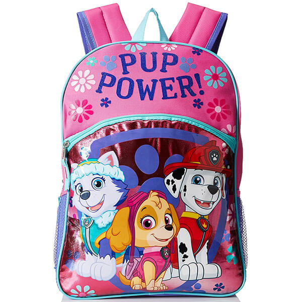 Pup Power Floral Backpack