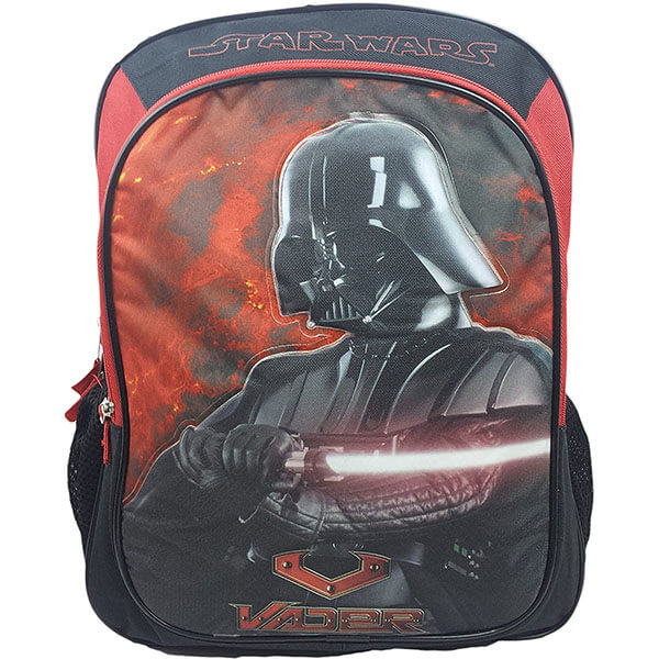 Red and Black Star Wars Backpack
