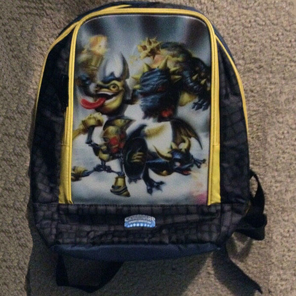 Skylanders Spyro's Adventure School Backpack