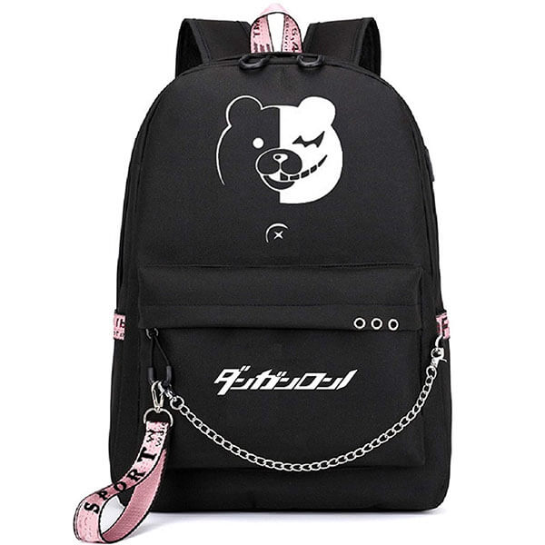 Luminous Anime Danganronpa Logo Backpack