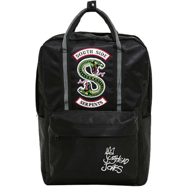 Black Colour Gorgeous Riverdale Backpack