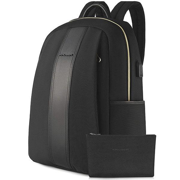Classy USB Port Computer Backpack Set