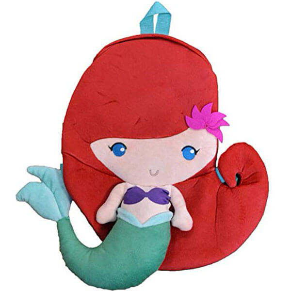 Cuddly Little Ariel Backpack for Toddlers