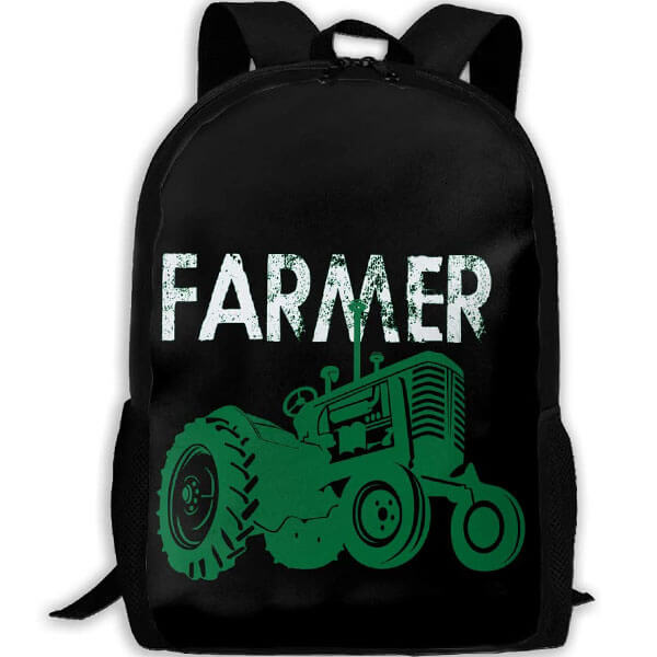 Customized Farmer Tractor Backpack