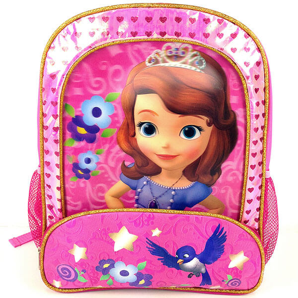 Disney Sofia the First Large School Backpack