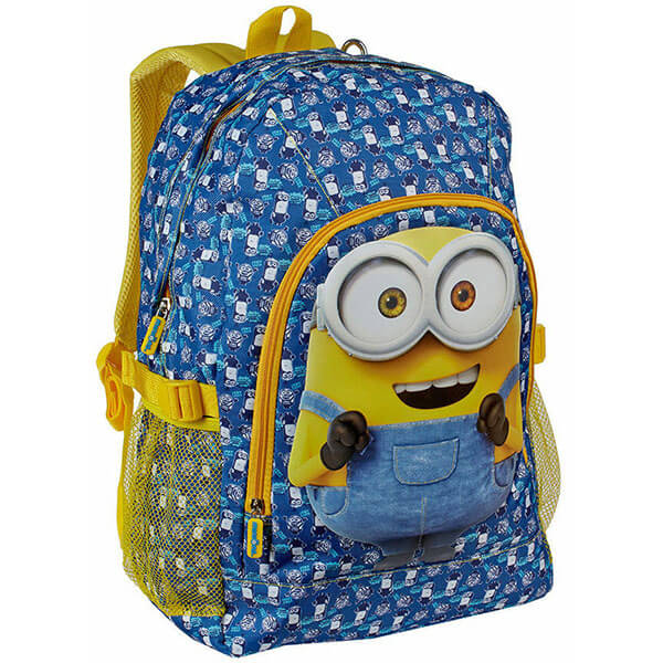 Grade Schooler's Bob the Minion Backpack