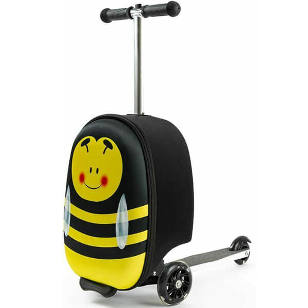 Bumblebee Print Scooter Backpack