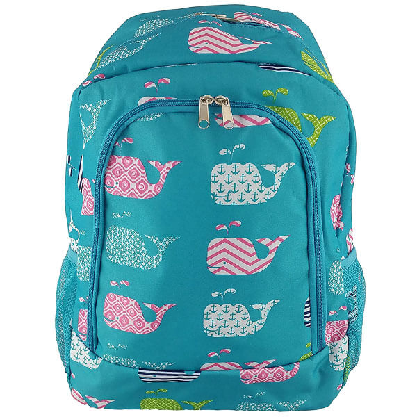 Turquoise Sea Backpack for School