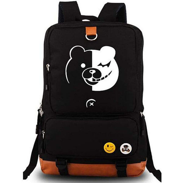 Danganronpa Backpack with Winking Face Emoji