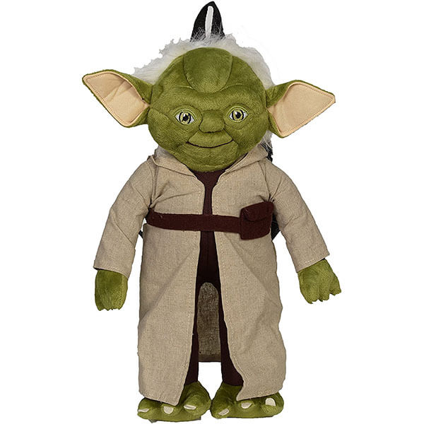 3D Yoda Cartoon Backpack with Amber Eyes