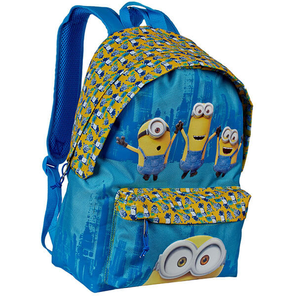 Blue color Minion Friendship Backpack