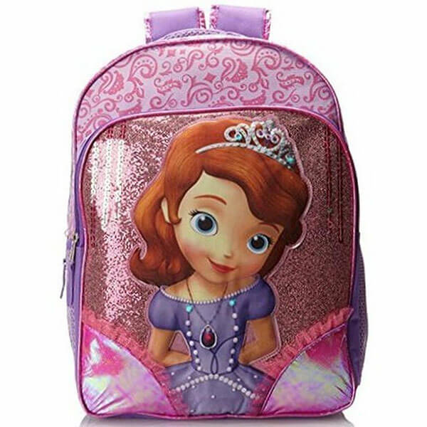 Disney Sofia the First Large Nap Backpack