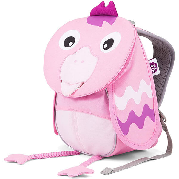 Flamingo with Cute Tongue Toe Backpack