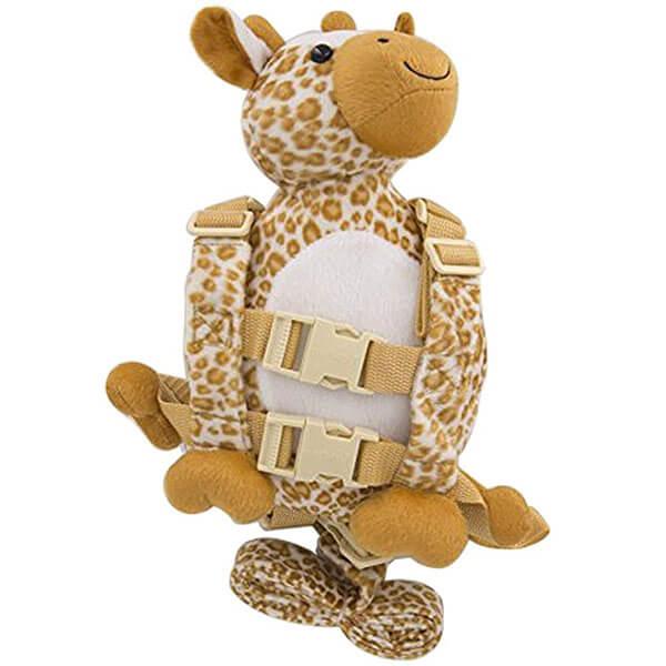 Giraffe Backpack with Walking Leash Strap