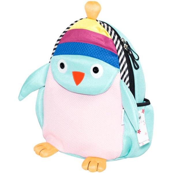 Light Green Plush Penguin Backpack