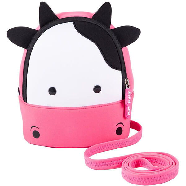 Toddlers 3D Cow Face Neoprene Backpack