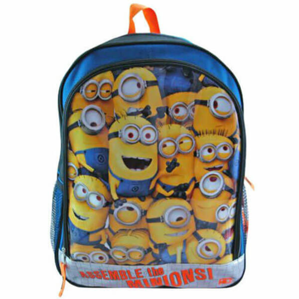 Canvas Assemble the Minions Backpack