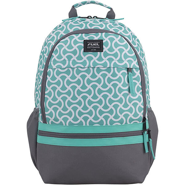 Fuel Turquoise School Backpack for Girls