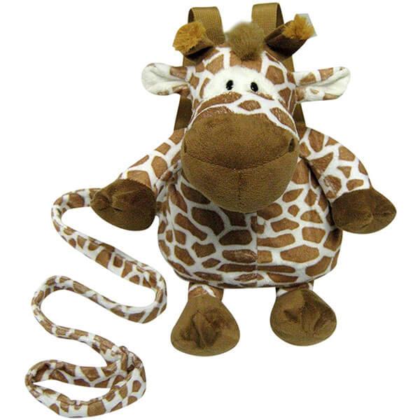 Giraffe Backpack with Detachable Swivel Clip