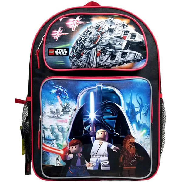 Lego Star Wars Backpack with Lunch Bag