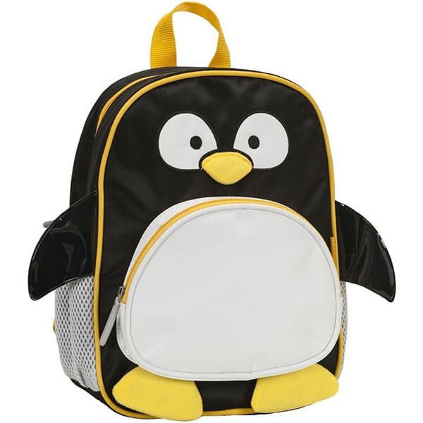 Microfiber Kindergarteners Penguin Backpack