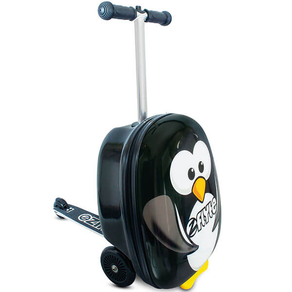 Penguin Scooter Luggage Kids Backpack