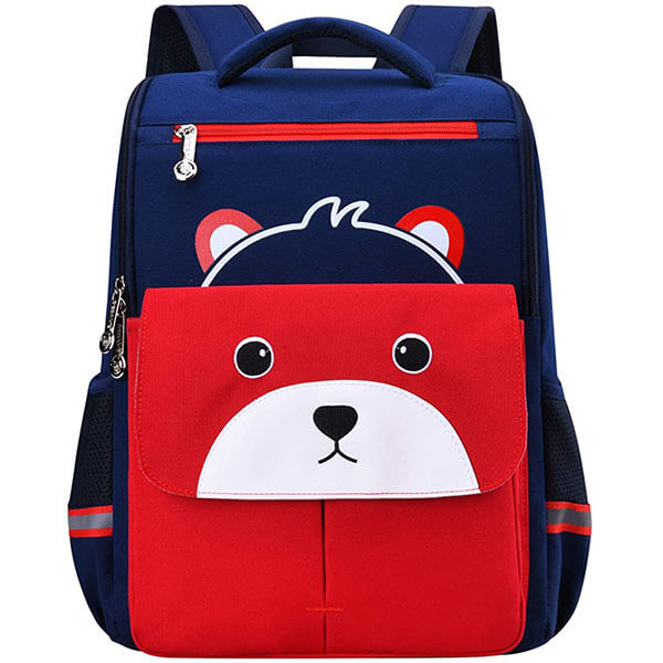 Personalized Teddy Backpack with Chest Clip