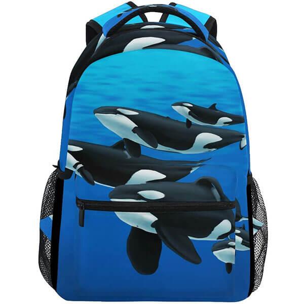 Stylish Orca Killer Sea Backpack