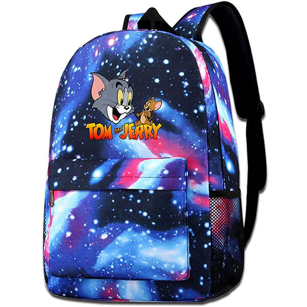Tom and Jerry Starry Thin and Light Galaxy Daypack