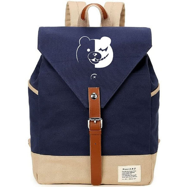 Navy Blue Danganronpa Logo Backpack