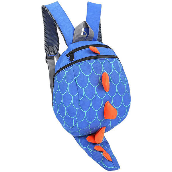 Dinosaur Spike Backpack with Safety Leash