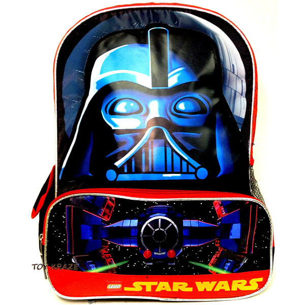 Face Brick Darth Vader Backpack