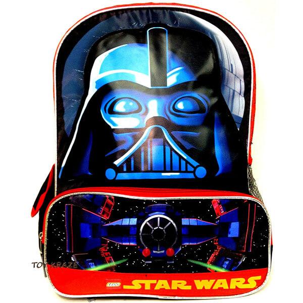 Face Brick Darth Vader Backpack