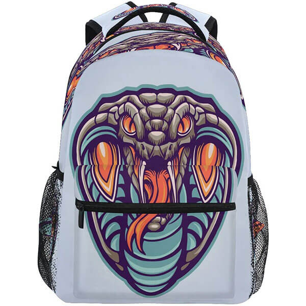 Ghost Snake Kids Backpack